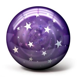 OTB Purple Stars - Exclusive Bowling Balls