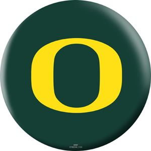 OTB NCAA Oregon Ducks Bowling Balls