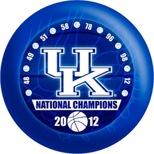 OTB NCAA Kentucky Wildcats 2012 National Basketball Champions Bowling Balls