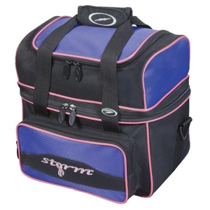 Storm 1 Ball Flip Tote Black/Purple/Pink Bowling Bags