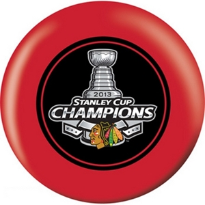 OTB NHL Chicago Blackhawks Stanley Cup Champions 2013 Red Bowling Balls