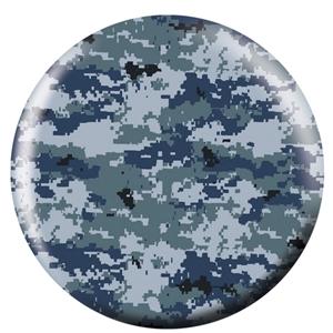 OTB Blue/Grey Camouflage  Bowling Balls