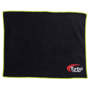 Turbo 2-N-1 Grips Deluxxx Microfiber Towel Green/Black