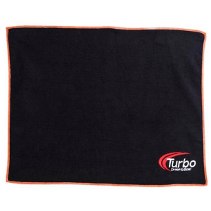 Turbo 2-N-1 Grips Deluxxx Microfiber Towel Orange/Black