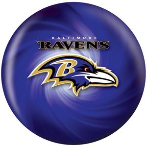 NFL Bowling Balls Baltimore Ravens