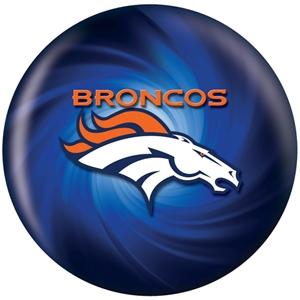 NFL Bowling Balls Denver Broncos