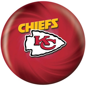 KR Strikeforce NFL Kansas City Chiefs ver2 Bowling Balls