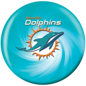 NFL Bowling Balls Miami Dolphins