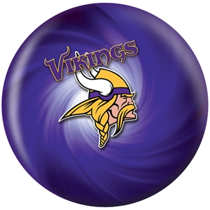 NFL Bowling Balls Minnesota Vikings