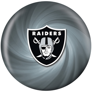 KR Strikeforce NFL Oakland Raiders ver2 Bowling Balls