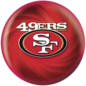 NFL Bowling Balls San Francisco 49ERS