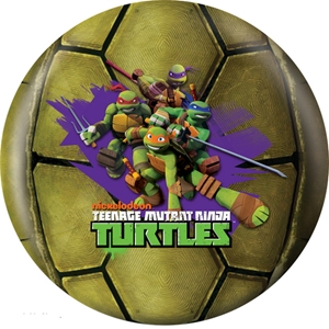 OTB Nickelodeon TMNT Michelangelo 10 15 Only RETIRED Bowling Balls