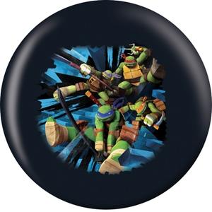 OTB Nickelodeon TMNT Leonardo RETIRED 6 Only Bowling Balls
