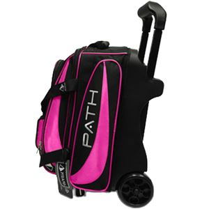 Pyramid Path Premium Deluxe Double Roller Black/Hot Pink