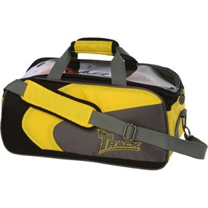 Track Premium 2 Ball Tote Yellow/Grey Bowling Bags