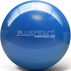Pyramid Blueprint Bowling Ball