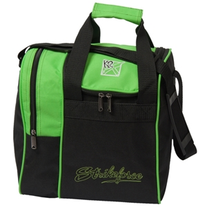 KR Strikeforce Rook Single Ball Tote Lime Bowling Bags