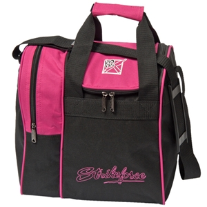 KR Strikeforce Rook Single Ball Tote Pink Bowling Bags