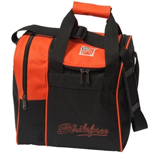 KR Strikeforce Rook Single Ball Tote Orange Bowling Bags
