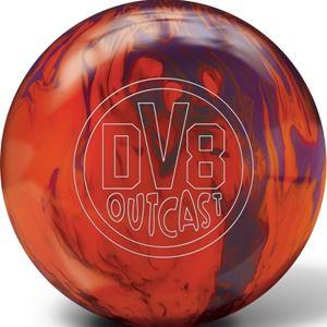 DV8 Outcast Mango Tango with Free Sack Bowling Balls