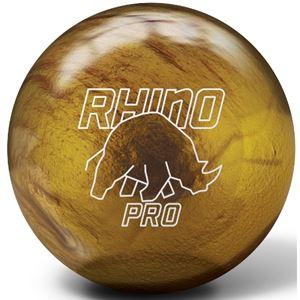 Brunswick  Vintage Gold Rhino Pro Bowling Ball