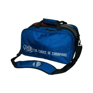 Vise Grip 2 Ball Clear Top Tote Plus Blue Bowling Bags