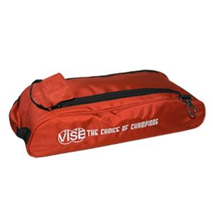 Vise Grip 3 Ball Add-On Shoe Bag Red Bowling Accessories