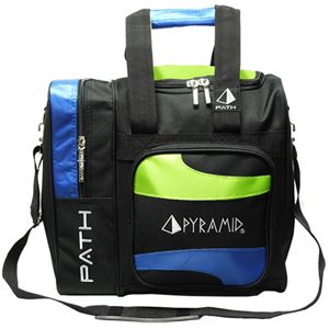 Pyramid Path Deluxe Single Tote Lime Green/Royal Blue/Black NEW ITEM