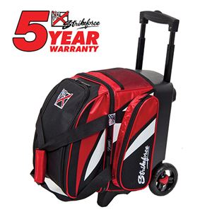 KR Strikeforce Cruiser Single Ball Roller Red/White/Black Bowling Bags