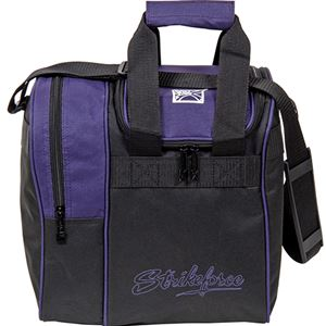 KR Strikeforce Rook Single Ball Tote Purple Bowling Bags