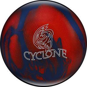 Ebonite Cyclone Blue/Red Sparkle Bowling Balls