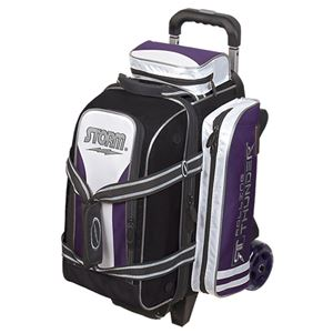 Storm Rolling Thunder 2 Ball Roller Purple/Black/White Bowling Bags