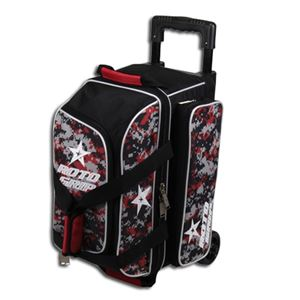 Roto Grip 2 Ball Roller Black/Camo Red Bowling Bags