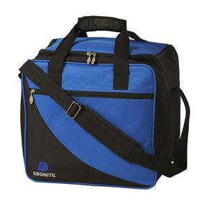 Ebonite Basic Single Tote Blue Bowling Bag