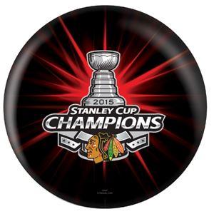OTB NHL Chicago Blackhawks 2015 Stanley Cup Champions Bowling Balls