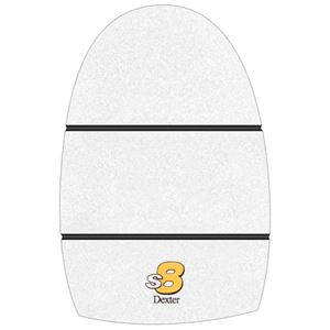 Dexter THE 9 White Microfiber (S8) Replacement Slide Sole