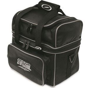Storm 1 Ball Flip Tote Black/Black Bowling Bags