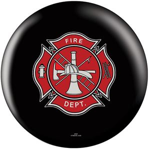 OTB Everyday Heroes Fire Department Black Bowling Balls