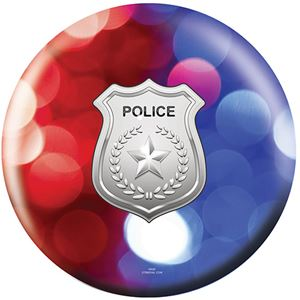 OTB Everyday Heroes Police Department Red Blue Lights Bowling Balls