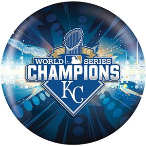 OTB MLB Kansas City Royals 2015 World Series Champs Bowling Balls