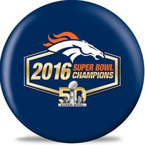 NFL Bowling Balls Superbowl Champs Denver Broncos