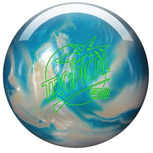Storm Tropical Storm White/Blue Pearl Bowling Balls