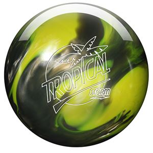 Storm Tropical Storm Yellow/Silver Pearl Bowling Balls