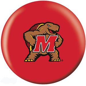 OTB NCAA Maryland Terps Bowling Balls