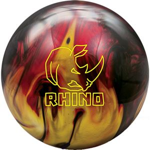 Brunswick Rhino Red/Black/Gold Pearl Bowling Balls