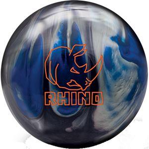 Brunswick Rhino Black/Blue/Silver Pearl Bowling Balls