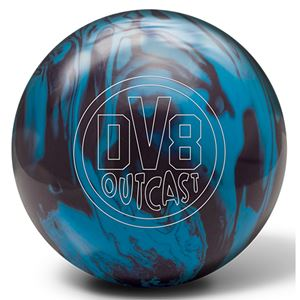 DV8 Outcast Blue Bruiser with Free Sack Bowling Balls