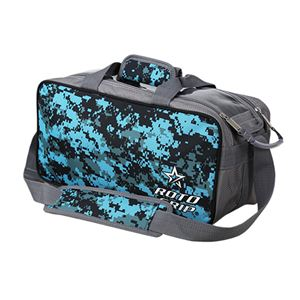 Roto Grip 2 Ball Tote Grey/Camo Blue Bowling Bags