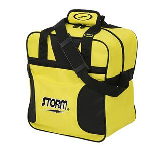 Storm Solo 1 Ball Tote Black/Yellow Bowling Bags