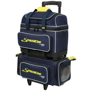 Storm Streamline 4 Ball Roller Navy/Grey/Yellow Bowling Bags